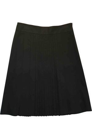 THEORY Wool mid-length skirt
