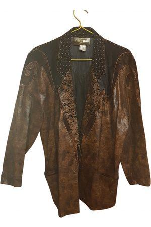 Roberto Cavalli Leather Jackets