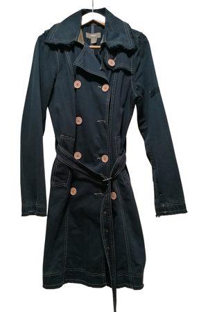 Mavi Navy Cotton Trench Coats