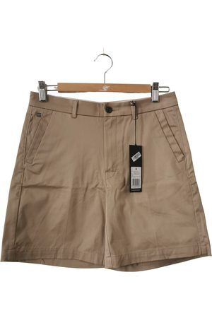 G-Star Camel Cotton Shorts