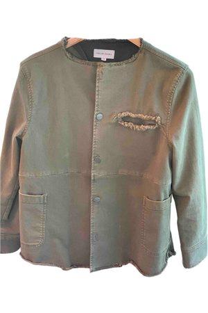 Chloé Stora Khaki Cotton Jackets