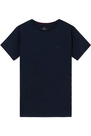 Hackett Fine Jersey Logo Short Sleeve T-shirt XS Navy