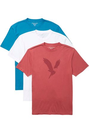 AMERICAN EAGLE Graphic Short Sleeve T-shirt 3 Pack L Multicolour