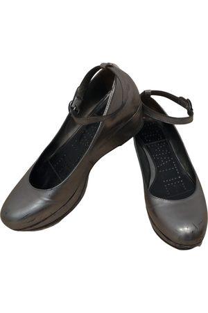 vic matiè Leather ballet flats