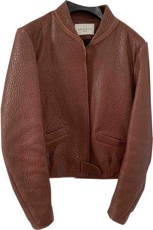 Sandro Women Leather Jackets - Leather Jackets
