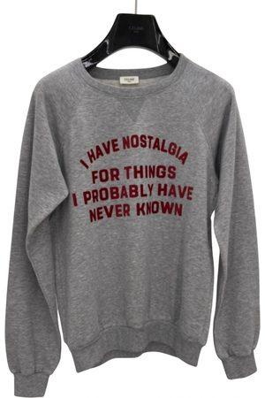 Céline Grey Cotton Knitwear & Sweatshirt