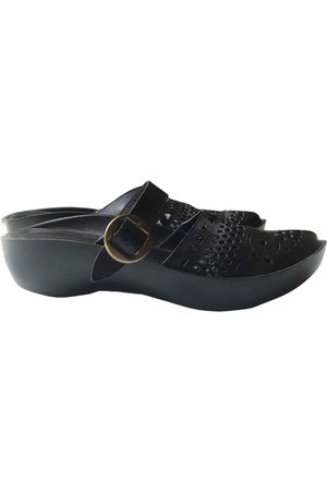 Robert Clergerie Leather mules & clogs