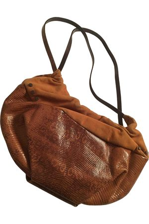 red line Leather Handbags