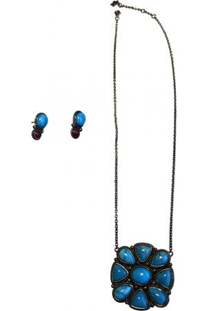 GAS Turquoise Silver Plated Jewellery Sets