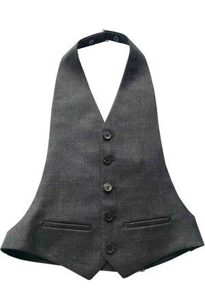 Lanvin Anthracite Wool Knitwear & Sweatshirts