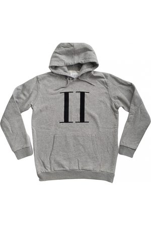 Les Deux Men Sweatshirts - Grey Cotton Knitwear & Sweatshirts