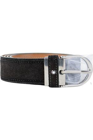 Mont Blanc Leather Belts