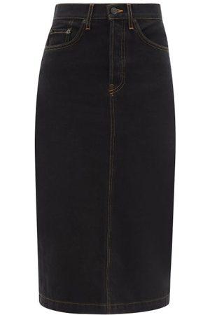 Wardrobe. nyc High-rise Denim Skirt - Womens