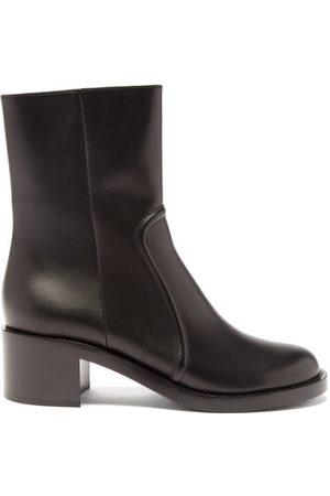 Gianvito Rossi Leather Ankle Boots - Womens
