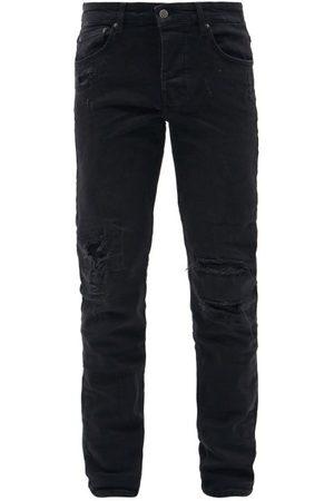 KSUBI Chitch Distressed Slim-leg Jeans - Mens