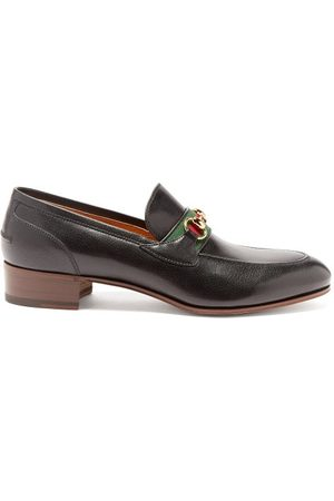 Gucci Horsebit Leather Loafers - Mens