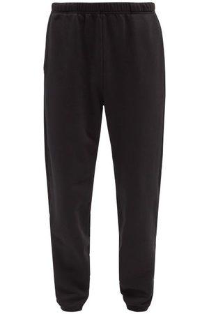 Les Tien Brushed-back Cotton Track Pants - Mens