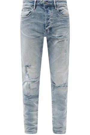 KSUBI Men Slim - Chitch Punk Distressed Slim-leg Jeans - Mens