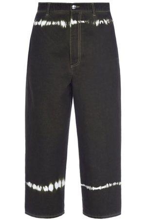 Marni Tie-dye Wide-leg Jeans - Womens