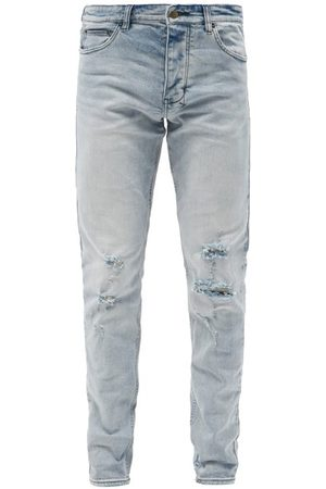KSUBI Men Slim - Chitch Philly Distressed Slim-leg Jeans - Mens
