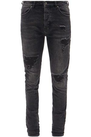 Ksubi Van Winkle Distressed Slim-leg Jeans - Mens