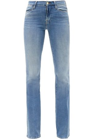 Frame Le High Flare Bootcut Jeans - Womens - Mid Denim