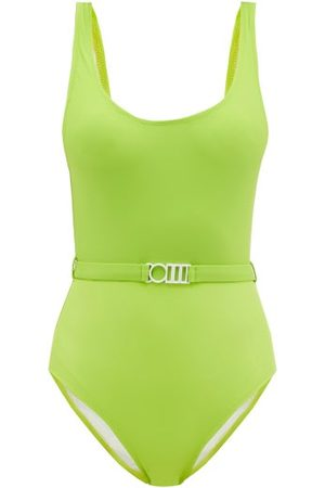 Solid The Anne-marie Belt Swimsuit - Womens - Light