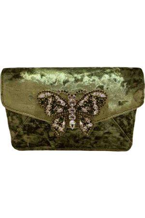 Emanuela caruso Velvet Clutch Bags