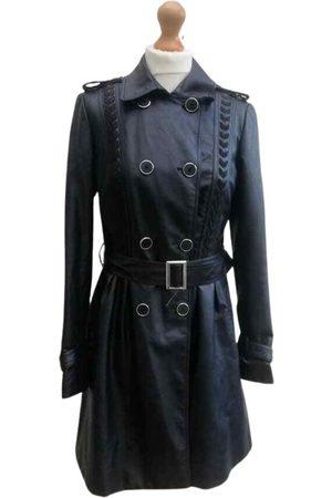 Morgan Vegan leather trench coat