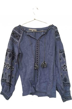 WHAT GOES AROUND COMES AROUND Linen blouse