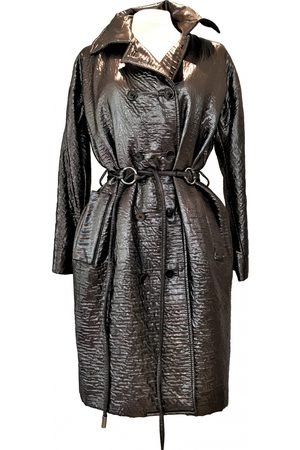 Dolce & Gabbana Metallic Wool Trench Coats