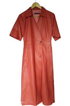 Zeynep Arcay Women Dresses - Camel Leather Dresses