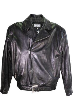 CLAUDE MONTANA Leather Jackets