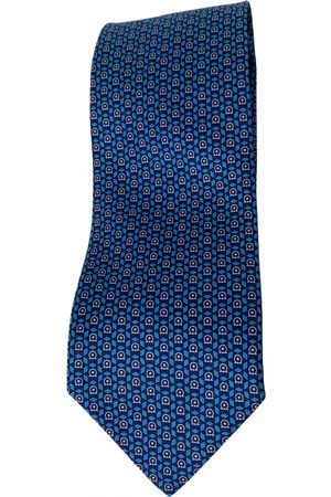 Salvatore Ferragamo Turquoise Silk Ties