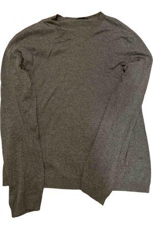 Sisley Grey Cotton Knitwear & Sweatshirts