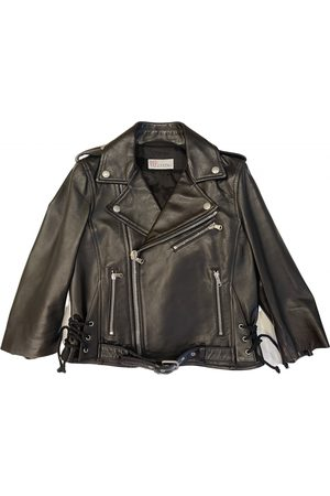 RED Valentino Leather Leather Jackets