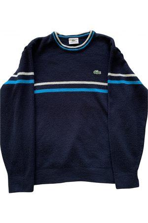 Lacoste Men Sweatshirts - Navy Wool Knitwear & Sweatshirts