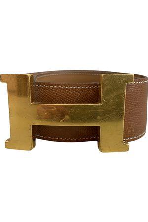 Hermès Camel Leather Belts