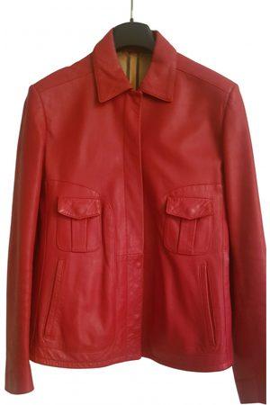 Fratelli Rossetti Leather short vest