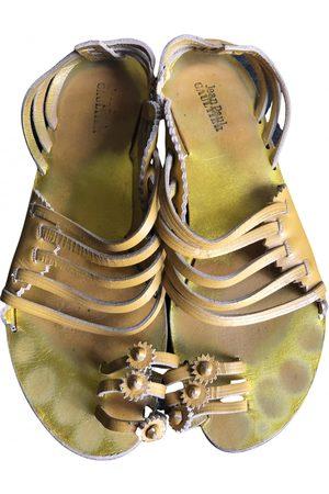 Jean Paul Gaultier Leather Sandals
