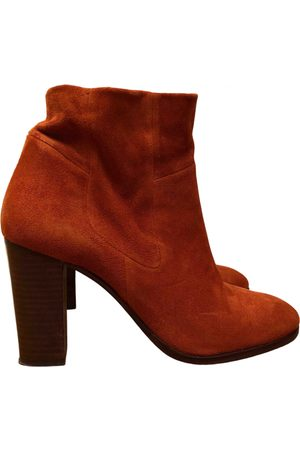 Stouls Suede Ankle Boots