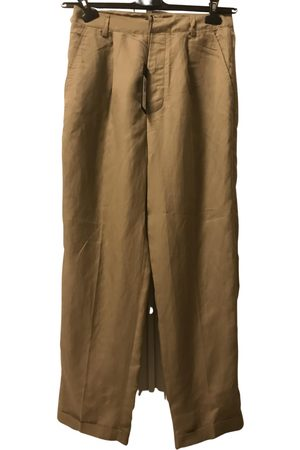 Stefanel Silk straight pants