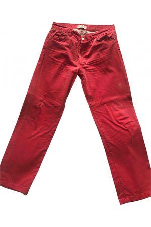 BLEU DE PANAME Cotton Trousers