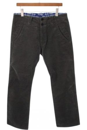 JUNYA WATANABE Anthracite Cotton Trousers