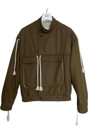 Maison Martin Margiela Khaki Cotton Jackets