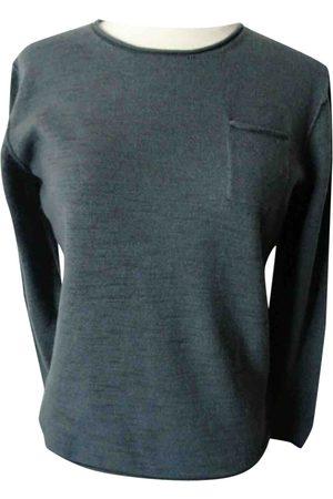 Karl Lagerfeld Grey Wool Knitwear & Sweatshirts