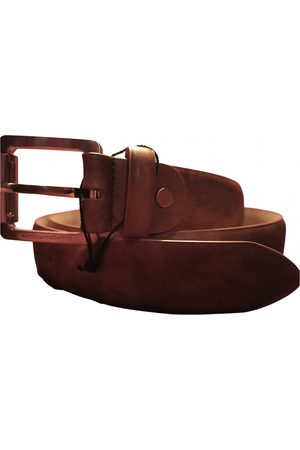Piquadro Camel Leather Belts