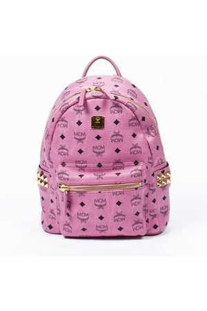 MCM Stark leather handbag