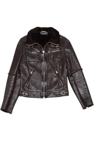 Dolce & Gabbana Leather short vest