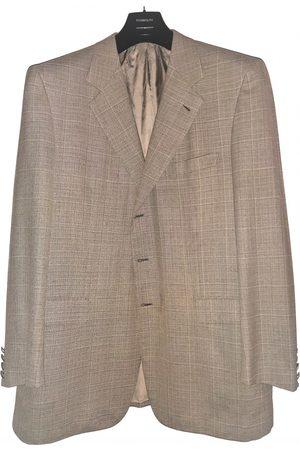 BRIONI Men Jackets - Grey Wool Jackets